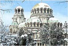 Зимняя Болгария