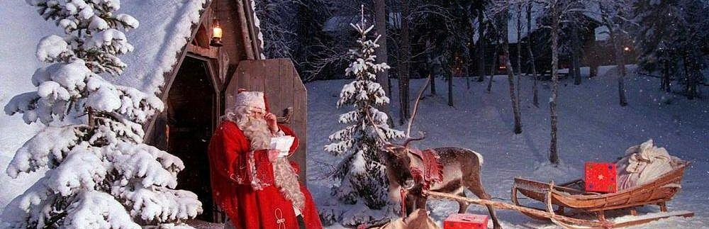 Новогодня столица Лапландии – Рованиеми!