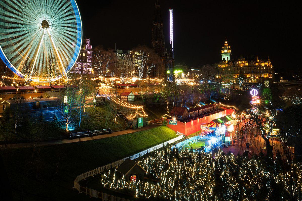 Рождественская ярмарка №2 Эдинбург, Шотландия