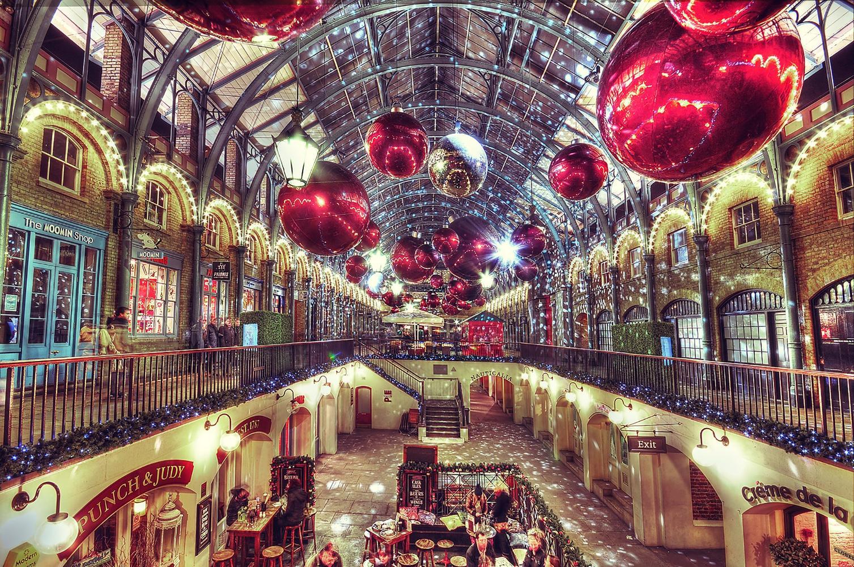 Рождественская ярмарка №4 Christmas on Covent Garden, Лондон, Великобритания