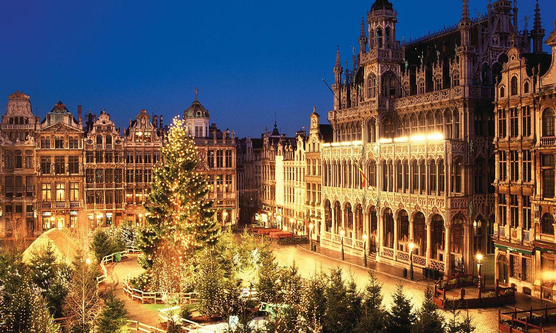 Рождественская ярмарка №14 Plaisirs d'Hiver, Брюссель, Бельгия
