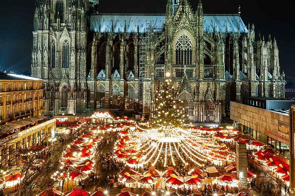 Рождественская ярмарка №12 Weihnachtsmarkt am Kolner Dom, Кёльн, Германия
