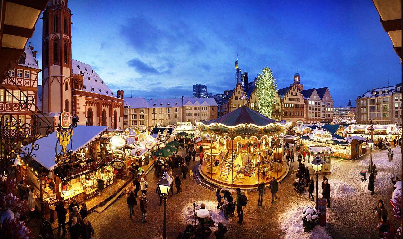 Рождественская ярмарка №5 Frankfurter Weihnachtsmarkt, Франкфурт, Германия