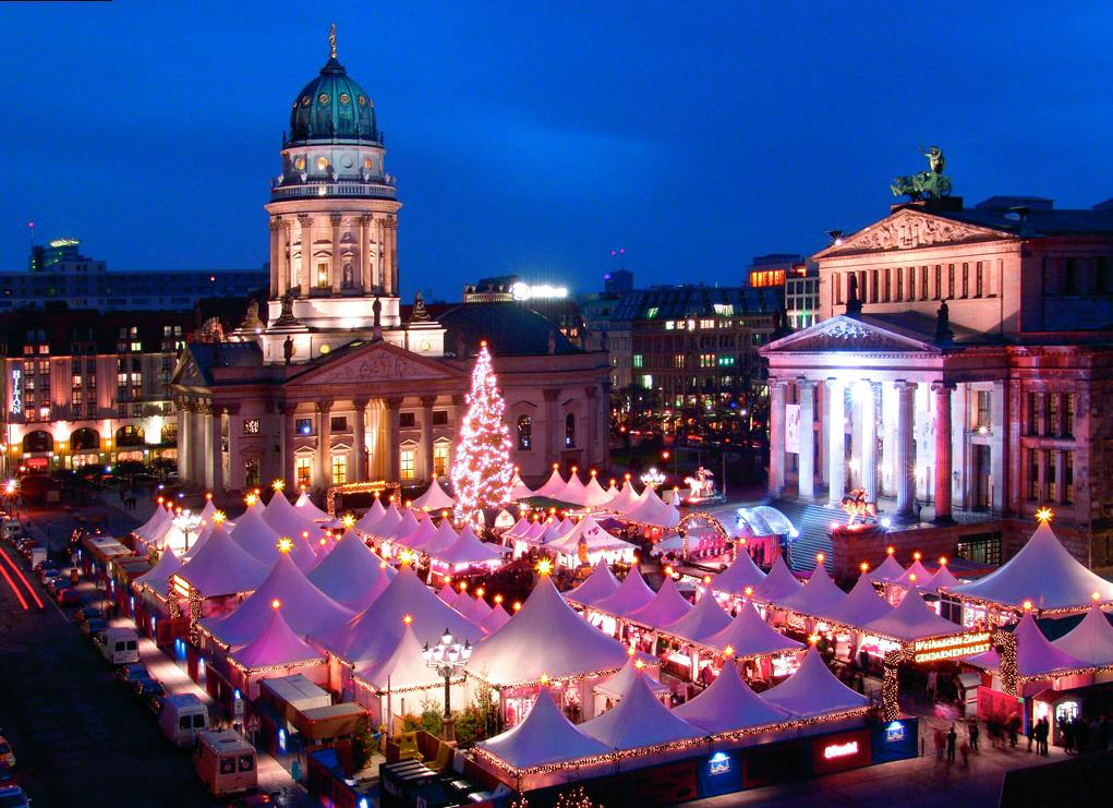Рождественская ярмарка №1 WeihnachtsZauber Gendarmenmarkt, Берлин, Германия