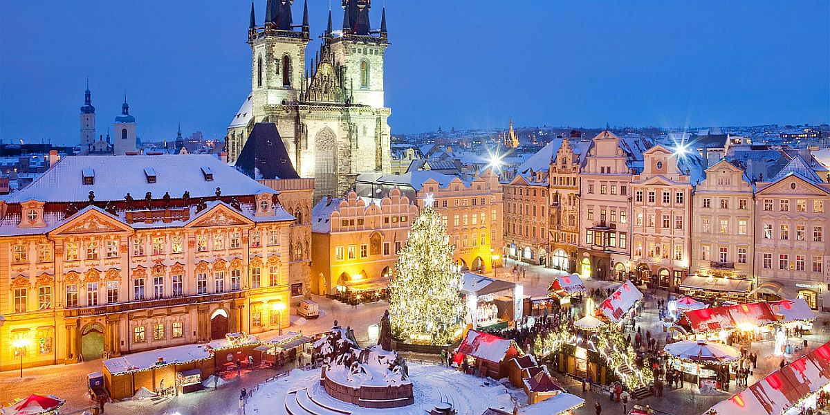 Рождественская ярмарка №9 Vanocni trhy na Staromestskem namesti, Прага, Чехия