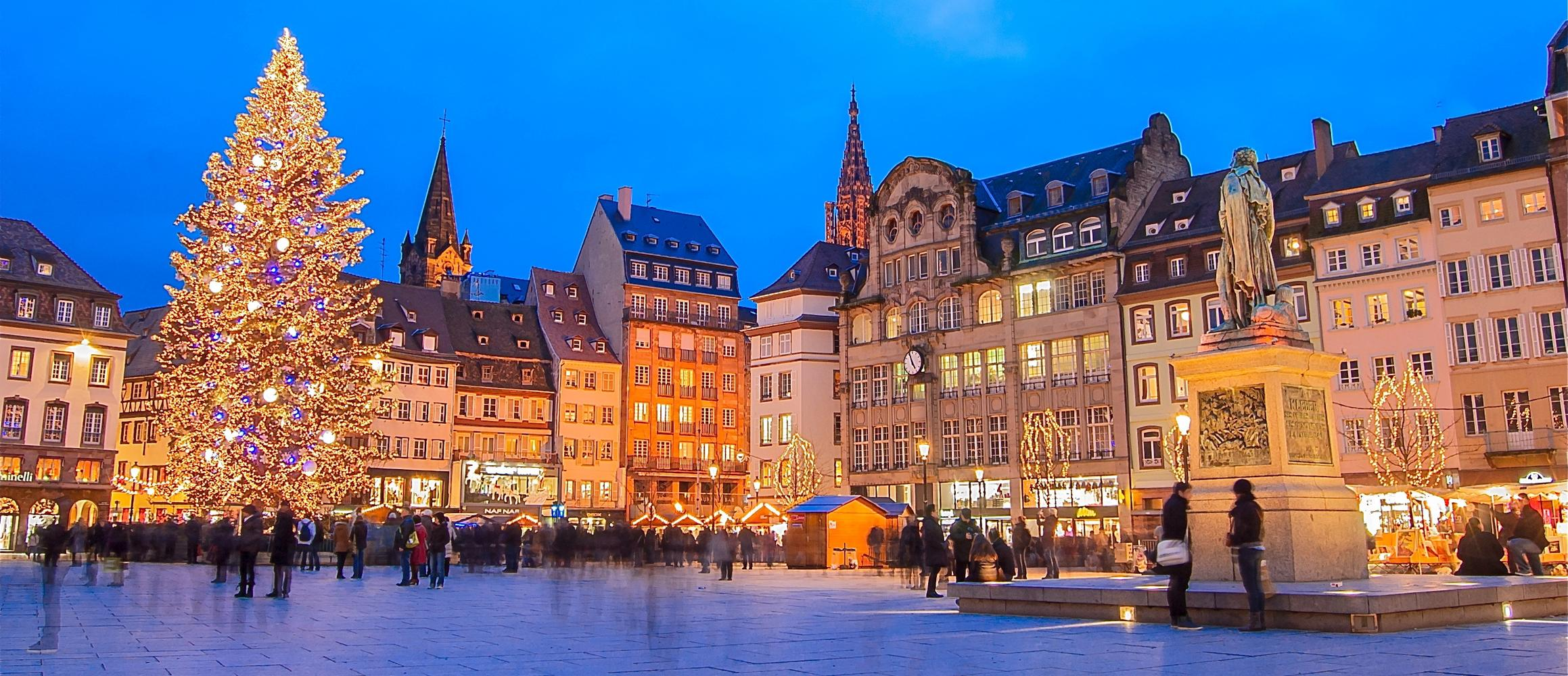 Рождественская ярмарка №3 Marches de Noel, Страсбург, Франция