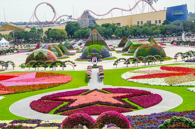 Miracle Garden в Дубайленде