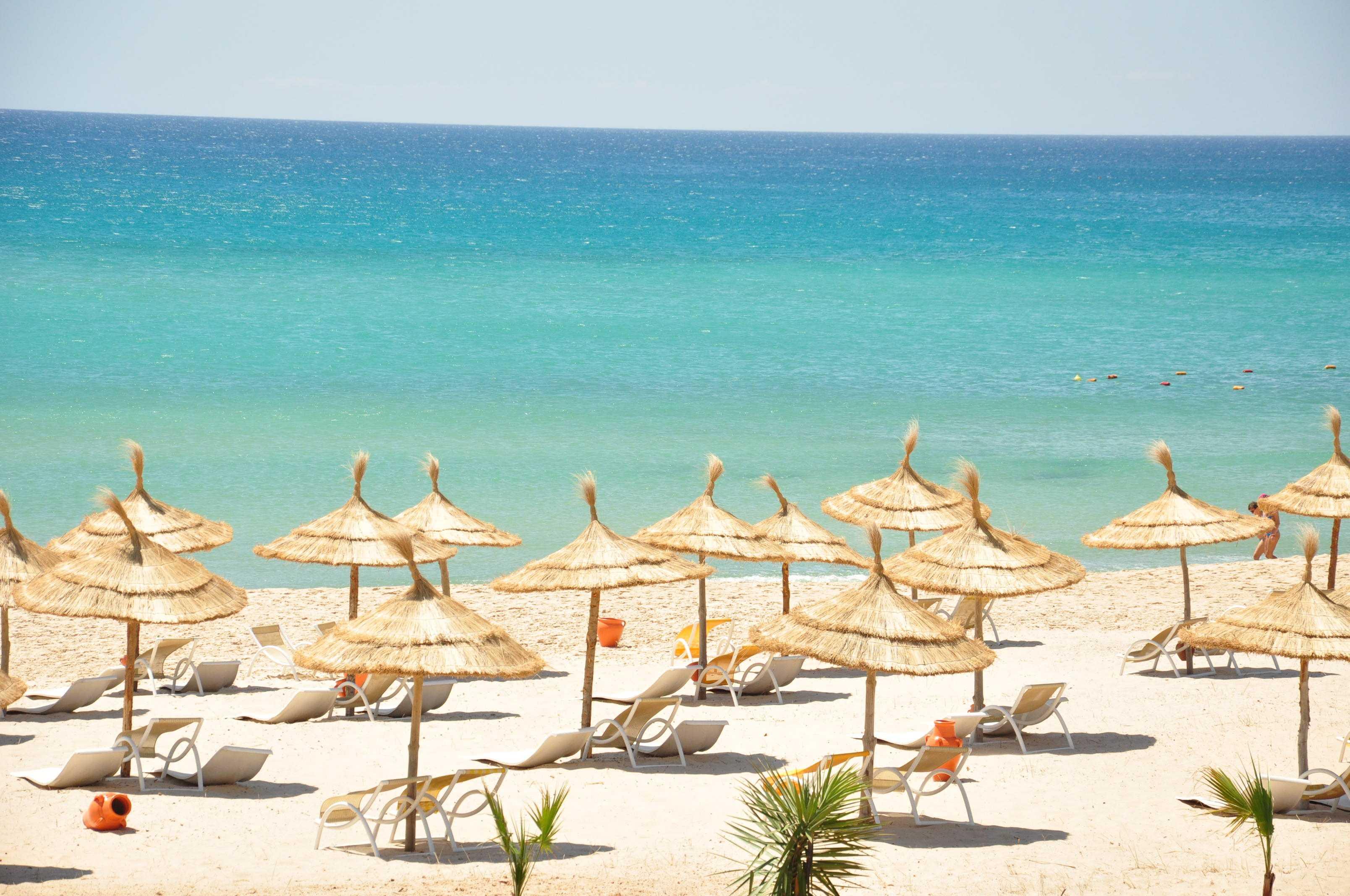 Тунис хаммамет фото пляжа